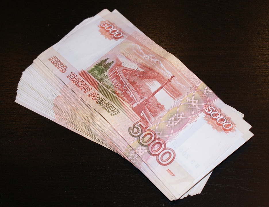balík rublů