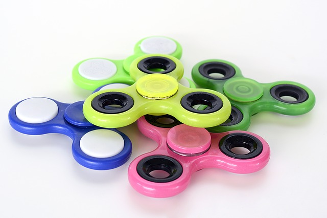 barevné spinnery