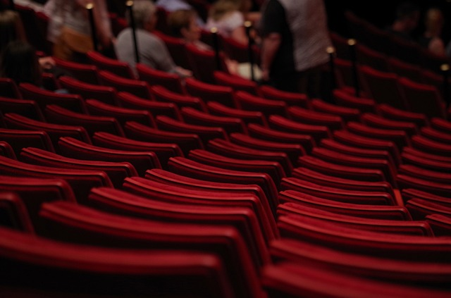 divadelní sedadla