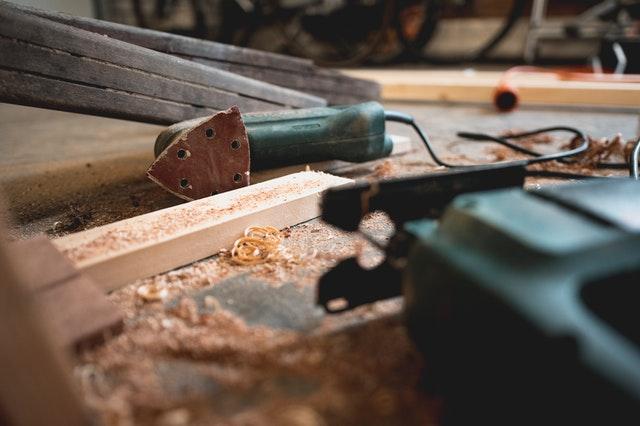 elektrické nářadí, dřevo